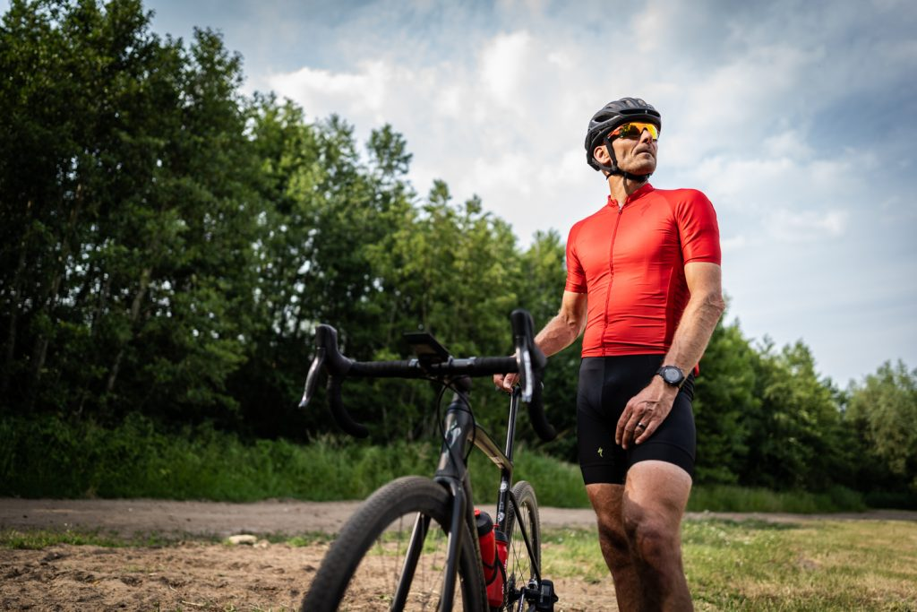 Absolute Cycling testrider Guido Vroemen